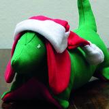 De kerst Teckel_